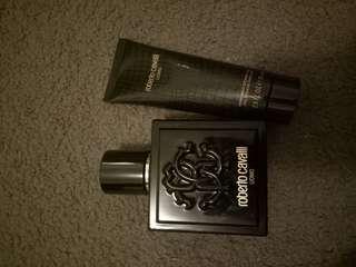 Roberto cavalli fragrance set
