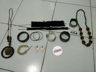 Aksesoris (kalung, choker, gelang, cincin, anting) take all