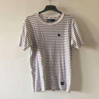 XLARGE striped tshirt