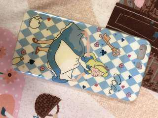 🚚 愛麗絲夢遊仙境 手機殼 5.5寸 i7 plus