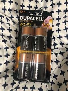 D4 Batteries