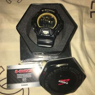 Authentic Black & Gold G-Shock Watch