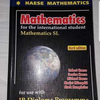Mathematics SL (IB DIPLOMA)