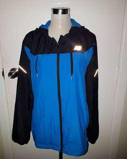 Black and Blue New Balance Hoody Jacket