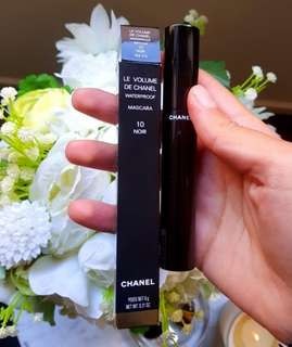 Unopened, new Chanel waterproof mascara