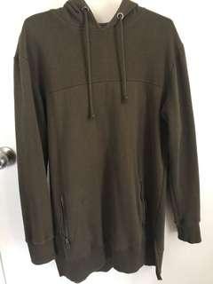 Cotton on Camo green hoodie