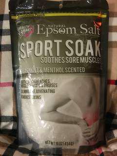 Epsom Salt Sport Soak - Spearmint & Menthol