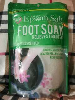 Epsom Salt Foot Soak - Eucalyptus