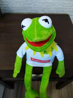 Supreme Kermit Plush Toy