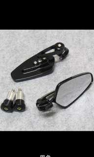 Motorcycle Grips Side Mirrors