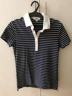 Uniqlo Stripe polo shirt