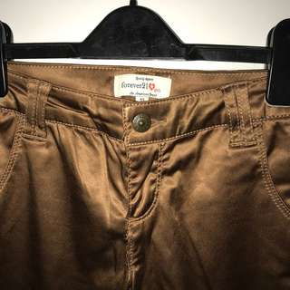 Forever 21 Brown Pants