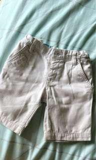 Gingersnap Cream Shorts