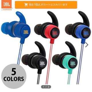 JBL Reflect Mini BT 極輕量藍牙運動耳機 藍色