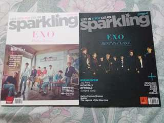 Sparkling Magazine EXO Edition (Spring and Winter Edition)
