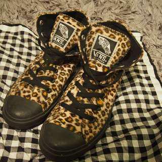vans leopard size 39 (RARE) collector item authentic