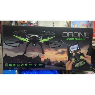big drone with camera