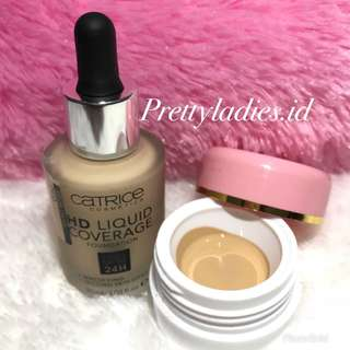 Catrice HD Liquid Coverage Foundation Share in Jar