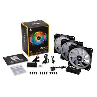 [SOLD OUT] Corsair LL120 RGB / LL140 RGB Dual Light Loop RGB LED PWM Fan