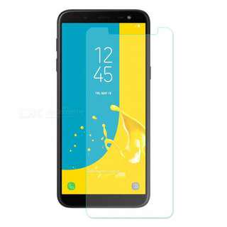 Samsung Galaxy J6 2018 透明鋼化防爆玻璃 保護貼 9H Hardness HD Clear Tempered Glass Screen Protector (包除塵淸㓗套裝)(Clearing Set Included)