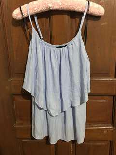 F21 frilled summer top