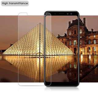 Samsung Galaxy J6 2018 透明鋼化防爆玻璃 保護貼 Tempered Glass Protector