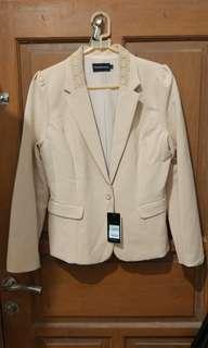 [The Executive] Blazer warna Khaki 100% BARU WITH TAG!