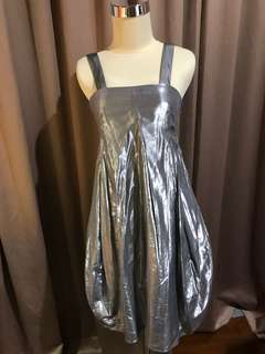 Country Road Silver Dress
