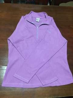 Purple Fleece Sweater