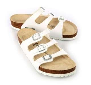 🚚 (全新免運)正版 BIRKENSTOCK勃肯 佛羅里達三條復古拖鞋 女鞋