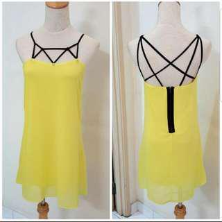 Strappy Slip-on Dress