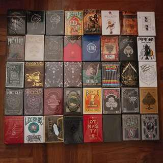 Playing Cards / Decks for Sale!!