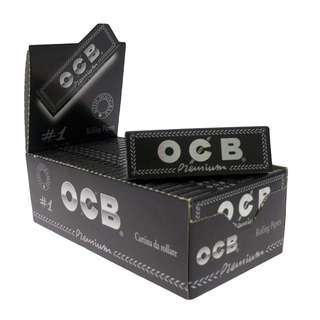 50包x50pcs. OCB Premium #1 Rolling Papers / 手捲煙紙