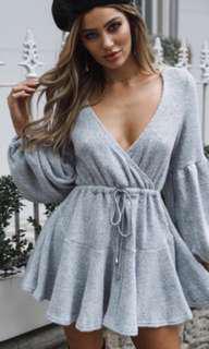 New Bell Sleeve Knit Dress Size 6
