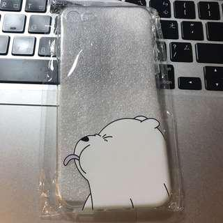 🚚 we bear bears熊熊遇見你iphone6透明手機殼