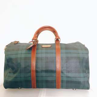 🚚 polo經典綠格 手提包