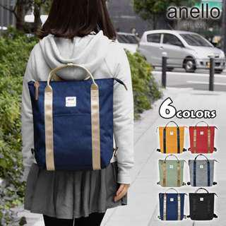 [Re-Stock] Japan Anello 2 Way Tote Shoulder Backpack~ Original 100% Authentic ☆New Release ☆AT-C2244