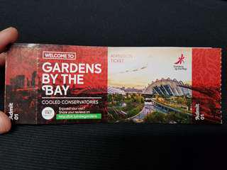 Gardens By The Bay - SGF + Flower dome/Cloud forest