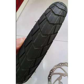 12 inch stock DYU tire