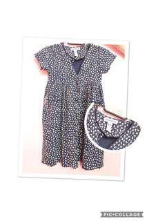 Printed dress for kids