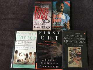 20th century quotations and becoming doctor books