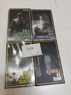 Buku Hitam Press Novel Buku