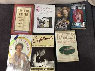 Fiction and non-fiction: Copland, Gretna green, pride and prejudice continued, quotable qoutes