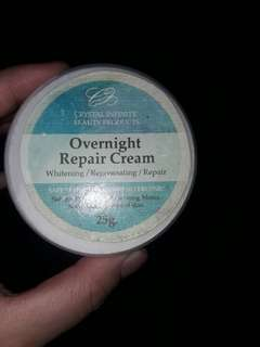 Over night repair cream