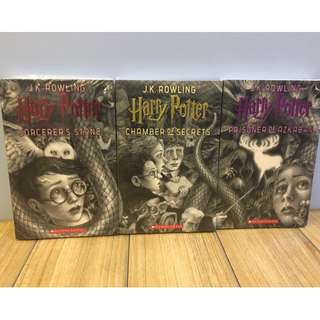 Harry Potter 20th Anniversary Editions 1 to 3