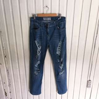 Marks & Spencer Mom Ripped Jeans