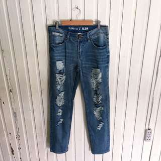 Baleno Mom Ripped Jeans