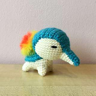 Pokémon - Cyndaquil (with desired name tag or message tag)
