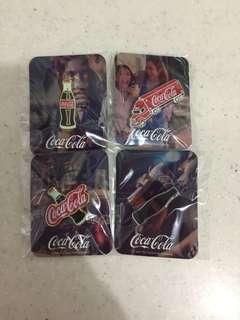 Limited Edition Coca Cola Badges