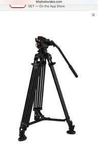 E-Image 2-Stage Aluminum Tripod GT75 with GH03 Head